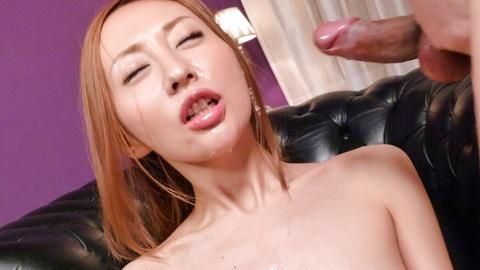 Erena Aihara sexy MILF jav xxx sucks deep in throat untill cumshot facial