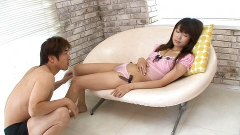 Wet dripping and hairy snatch gets fucked by Asian porn guy HD Uncensored
