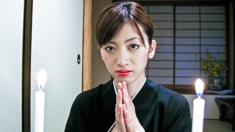 Hanai Kanon jav wife cheats her husband after he died