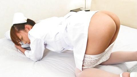 Curvy ass Miina Minamoto in nurse uniform shows to fuck her orgy jav xxx