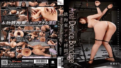 GVG-480 Yuri Momose Anal Device Bondage V Iron Restraint Anal Torture - Glory Quest